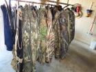 Camo clothing~ Quad parkas, Coats, shirts, misc. ( mostly size large)