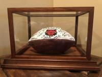 ASU 2011 Autographed Football & Display Case