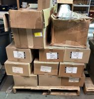 Approx. 18 of 120 Volt High Wattage 1C/Sloped Ceiling Housing Lamps L16, 2 Philips Halogen 9181032210587, 2 Large Boxes W/several Max Lamps 6B4 NAWTU