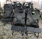 8 BLACK REPLACEMENT COP CAR, CAR SEATS
