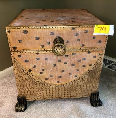 Decorative Storage Box - End Table