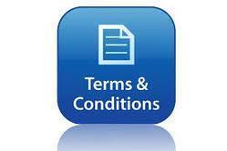 ATTENTION! PLEASE READ TERMS & CONDITIONS THOROUGHLY