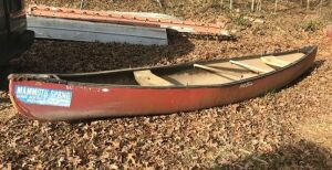 16' Old Towne Fiberglass Canoe ( will possibly need patchwork)