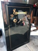 Browning Gun Safe - , Combination has been located !  Safe will operate. The key to lock the tumbler is missing.