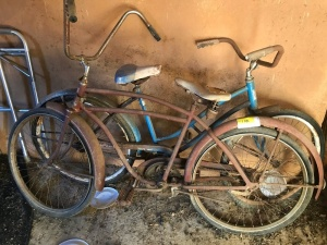 2 Antique Bicycles