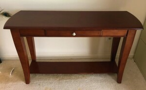 Sofa Tabe W/Drawer