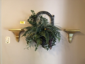 Greenery, 2 Wall Sconces