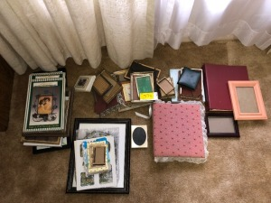 Picture frames, Albums