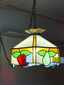 Fruit Hanging Stain Glass lamp