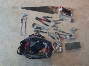 Tool Bag and Assorted Tools
