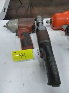 "MATCO 3/8"" Impact Wrench and MATCO 3/8"" Air Ratchet"