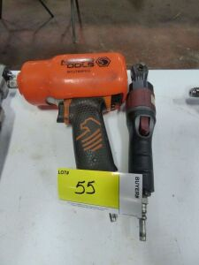 "MATCO 1/2"" Impact Wrench and MATCO 1/4"" Air Ratchet"