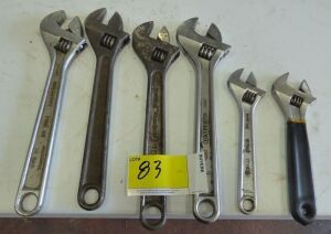 Miscellaneous Crescent Wrenches