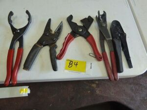 Various Wrenches and Cutters