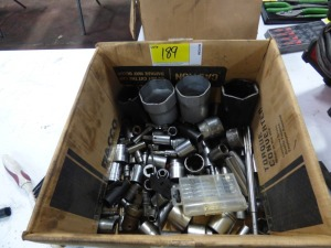 Box of Miscellaneous Sockets