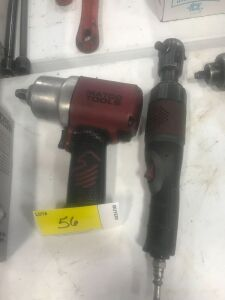 "MATCO 1/2"" Impact Wrench and MATCO 3/8""  Air Ratchet"
