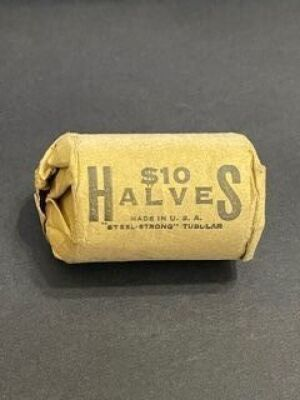 ROLL OF 1966 HALF DOLLARS