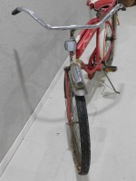 1950 WESTERN FLYER BICYCLE RED WHITE VINTAGE ANTIQUE - 7