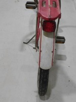 1950 WESTERN FLYER BICYCLE RED WHITE VINTAGE ANTIQUE - 10