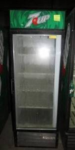 (10) Beverage-Aire MT-23 & True GDM26 ( mixture of each brand) single door, self serve, refrigerators- compressors run, some may need bulbs
