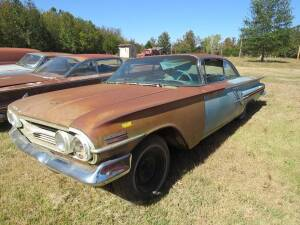 1960 Chevy Impala - 2 door sport coupe (Bill of Sale ONLY)