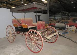 Antique Horse Drawn Buggy -  refurbished within the last two years.