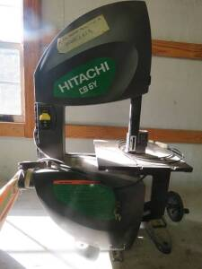 Hitachi CB6Y Band Saw
