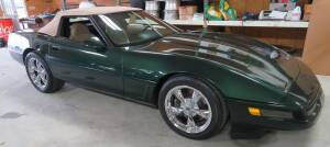 1995 Chevrolet Corvette Convertible- OD reads 165,707 miles