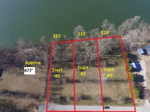 Tract #1- White River Lot with 115' Frontage