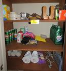 misc. cleaning supplies and cleaner