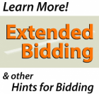 Extended Bidding  & Staggered closing is in effect !