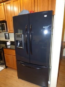 Maytag 22 cu ft SXS Refrigerator with bottom mount freezer