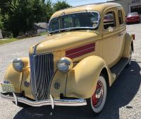 1936 Ford Deluxe - 4  Sedan- Suicide Doors - Flathead 8 , 85 HP