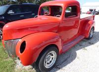 1941 Ford Custom with a 1999 Dodge Dakota subframe V-6, runs great, 90% + parts included to finish the project !