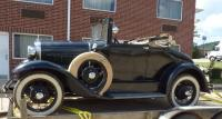 1931 Ford Model A with Rumble Seat, spoke wheels and loaded with chrome ! # A4332014.. has title.