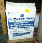 Bradford White Electric 6 Gallon 120 Volt - New In Box
