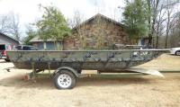 2005 War Eagle 1648 LDV with 2005 RD trailer