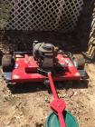 "Swisher 11.5 HP, 44"" cut pull behind finish mower"