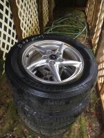 4 Pontiac rims & tires