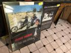 "Easy Rider and Godfather framed posters - ER 40"" x 30"" GF 23"" x 35"""