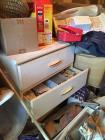 Contents of Storage Building - Vintage Chest of Drawers, Air Hockey Table, High Chair, Camo Clothing, lots of misc !!