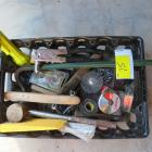 Flat Full of Tools- Rivet Tool, Claw, Submersible Flashlight, Hatchet, Tape Measure, & More!