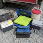 Coolers, Lantern, & Camping Items