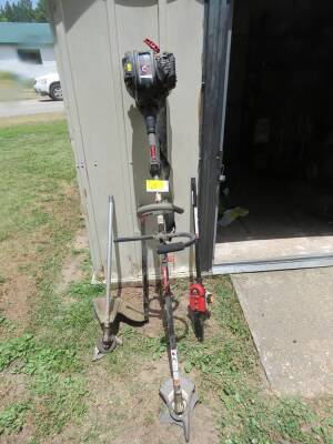 Troy Built Pole Saw, Brush Cutter, Weed Trimmer Combo