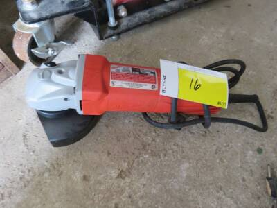 "Milwaukee 4 1/2"" Right Angle Grinder"