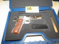 .45 Cal Springfield 1911-A - Military Specs #N543043 W/Case, Holsters, Interchangeable Grips