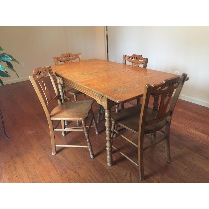 Hoosier Table And Chairs Checknows Co
