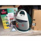 Bissell Little Green Plus Portable Home Cleaner in Original Box w/ Attachments & Cleaning Solution