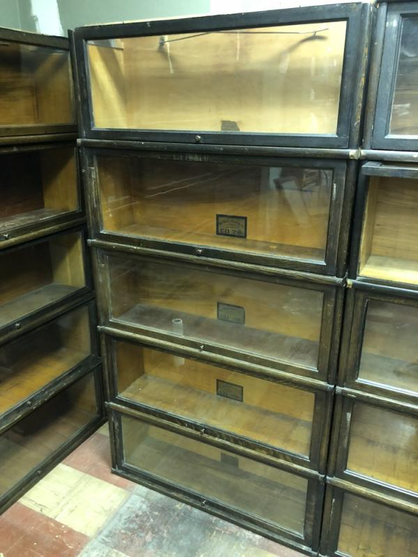 Oak Barristers Bookcases Or Lawyer Bookcases The Globe Wernicke Co Sectional Bookcase Made In
