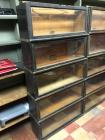 Oak Barristers Bookcases or Lawyer Bookcases, The Globe-Wernicke Co Sectional Bookcase Made In Cincinnati. Standard C-11 Unit Pattern 111- Grade 798 1/2 - 5 Stack without Top